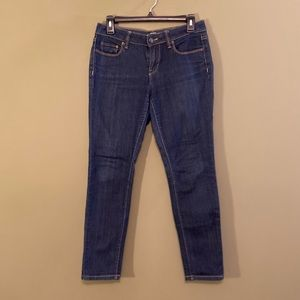 Ann Taylor Loft Modern skinny denim jeans 4P